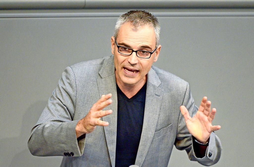 Vom Bundestag in die Bürgerbewegung: Der Grünen-Politiker Gerhard Schick Foto: dpa