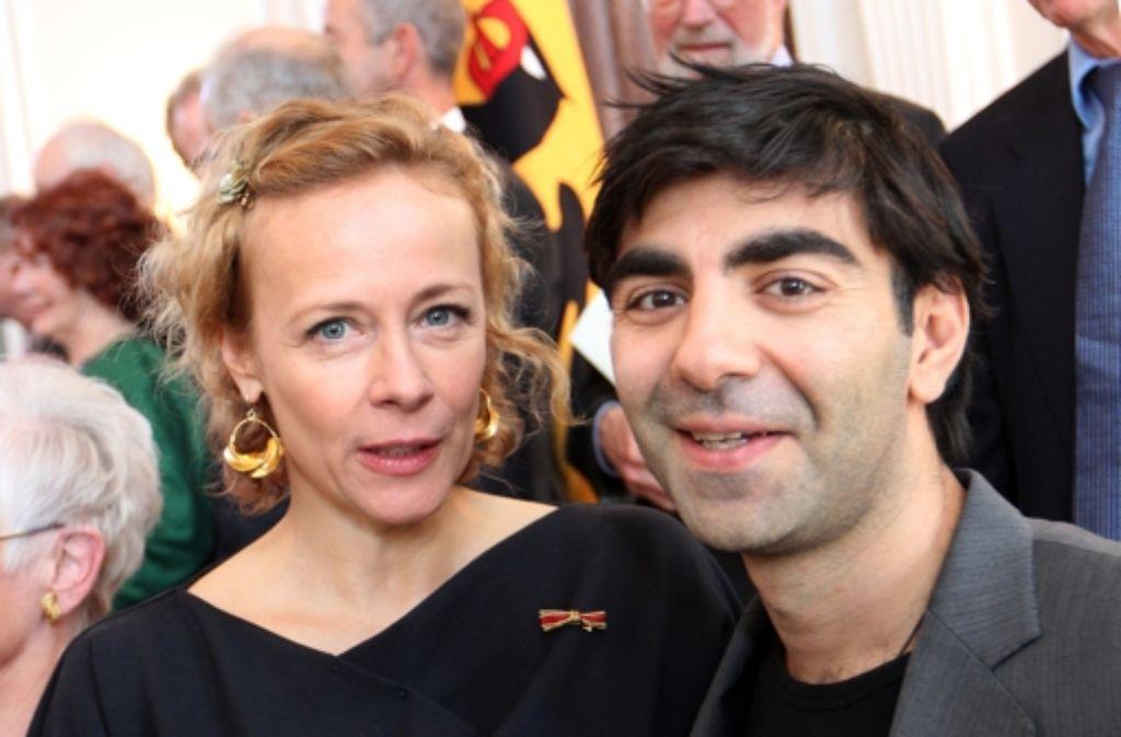 Schauspielerin Katja Riemann und Regisseur Fatih Akin sind zwei der rund 100 Künstler, die sich in einem offenen Brief  an die Kanzlerin wenden. Foto: dpa