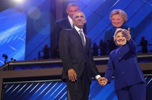 Barack Obama kämpft für Hillary Clinton