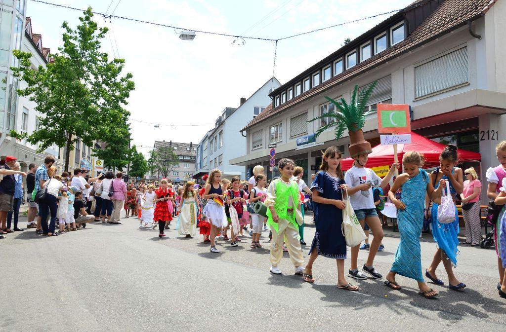 In welcher Form das Kinderfest 2018 stattfinden soll, damit befasst sich nun eine Lenkungsgruppe. Foto: Archiv Lisa Wazulin