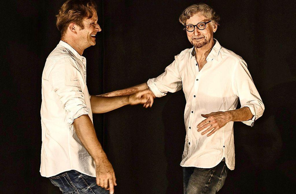 Michael Stülpnagel (links) und Johannes Weigle    freuen sich über ein treues Publikum. Foto: privat