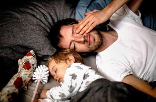 Ein Vater, ein Baby und viele Baustellen