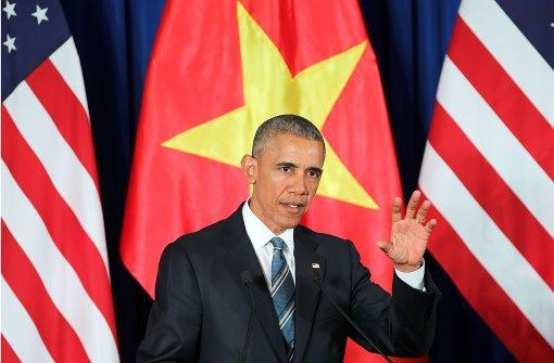 Obama hebt Waffenembargo auf