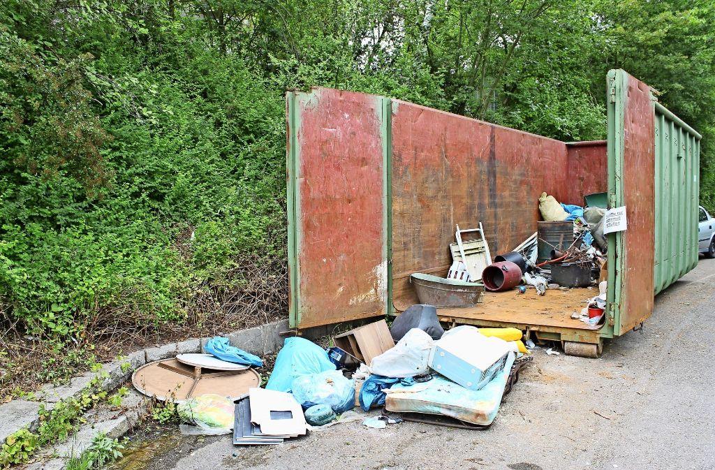 Schon 2013 gab es auf der Wangener Höhe eine Müllentsorgungsaktion. Foto: