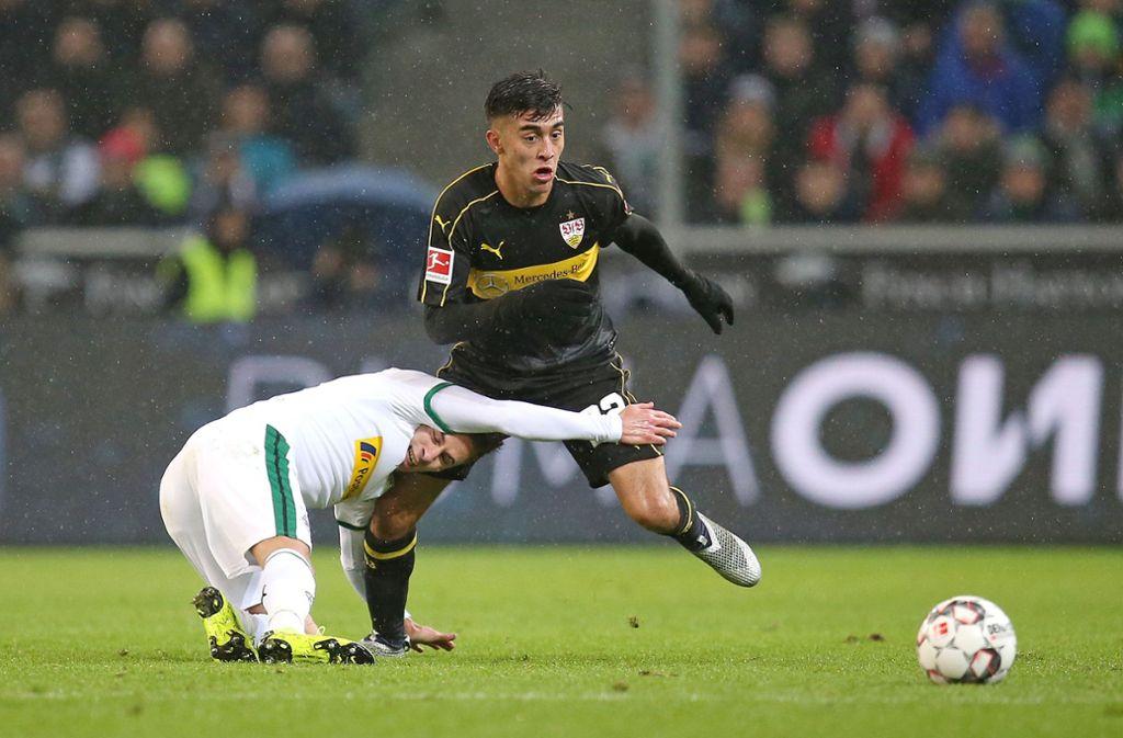 Dem VfB fehlt es an Esprit und Durchschlagskraft im Vorwärtsgang. Foto: Pressefoto Baumann