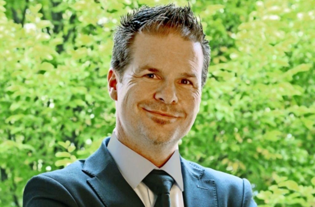 Jürgen Gröger  tritt am 1. März 2016 die Nachfolge von Thomas Schuster als Eislinger Baubürgermeister an. Foto: privat Foto:
