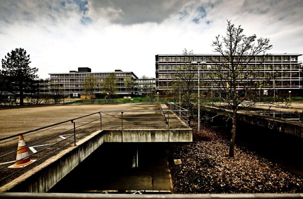 Steht momentan leer: die ehemalige IBM-Zentrale in Vaihingen Foto: Lichtgut/Leif Piechowski
