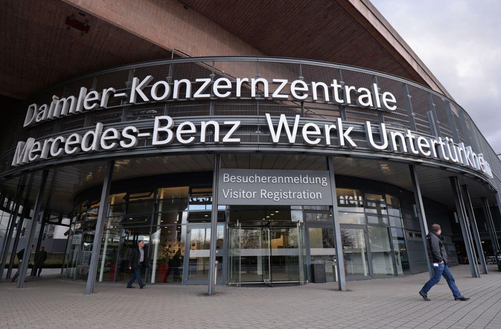 Daimler war und ist der größte Arbeitgeber in Stuttgart. Foto: picture alliance / Andreas Gebert
