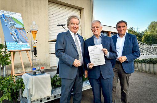 Drei Millionen Euro für die Entlastung des Neckars