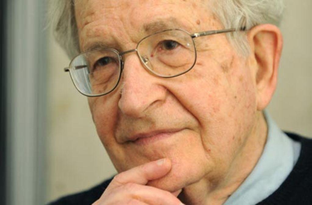 Noam Chomsky ist einer der namhaftesten politischen Querdenker in den USA. Foto: dpa