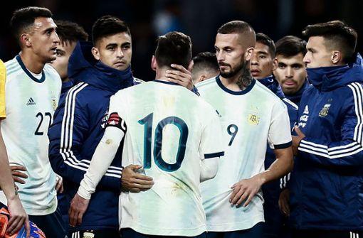 Messi verletzt sich bei Comeback-Niederlage