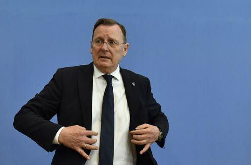 """Kretschmann hält Ramelows Plan für """"brandgefährlich"""""""