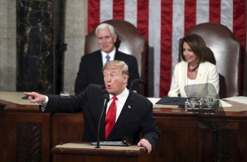 Donald Trump beschwört die Einheit der Nation