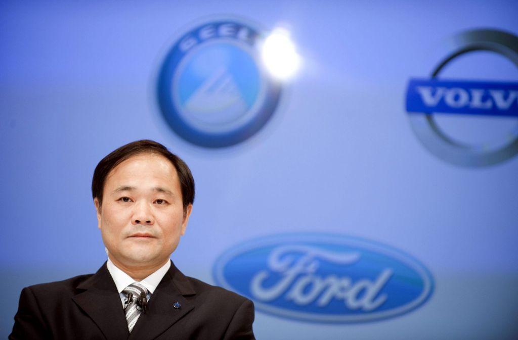 Geely-Chef Li Shufu meldet ein längerfristiges Interesse an den Angelegenheiten von Daimler an. Foto: SCANPIX
