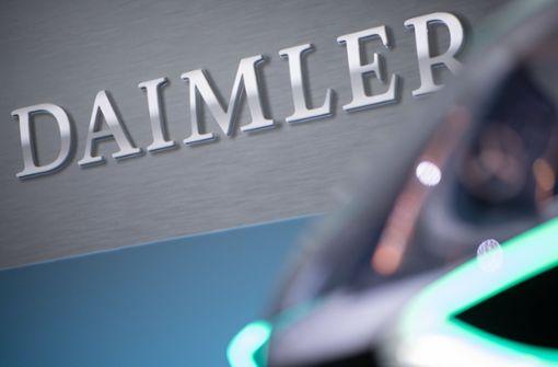 Daimler rechnet nicht mit Bußgeld