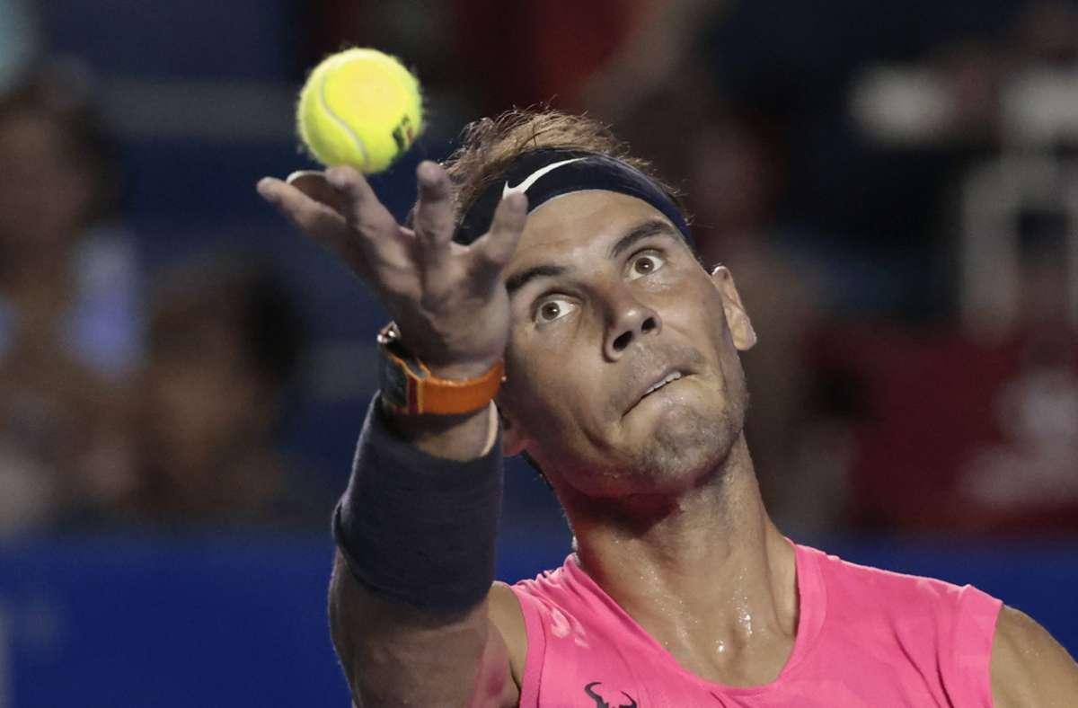 Ist schon mit einem bessern Gefühl nach Paris gereist: Rafael Nadal Foto: dpa/Rebecca Blackwell