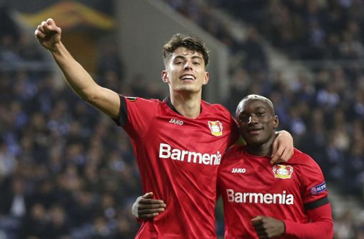 Bayer Leverkusen und der VfL Wolfsburg souverän weiter