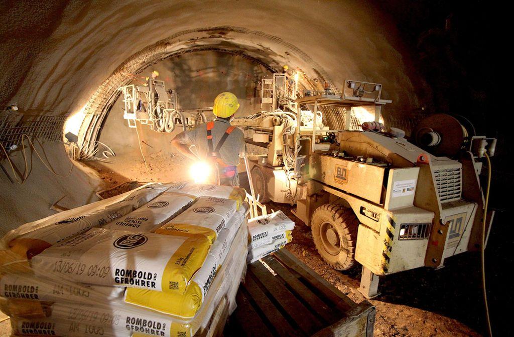 Der  Rosensteintunnel kommt die Stadt immer teurer zu stehen. Foto: Lichtgut/Jan Reich