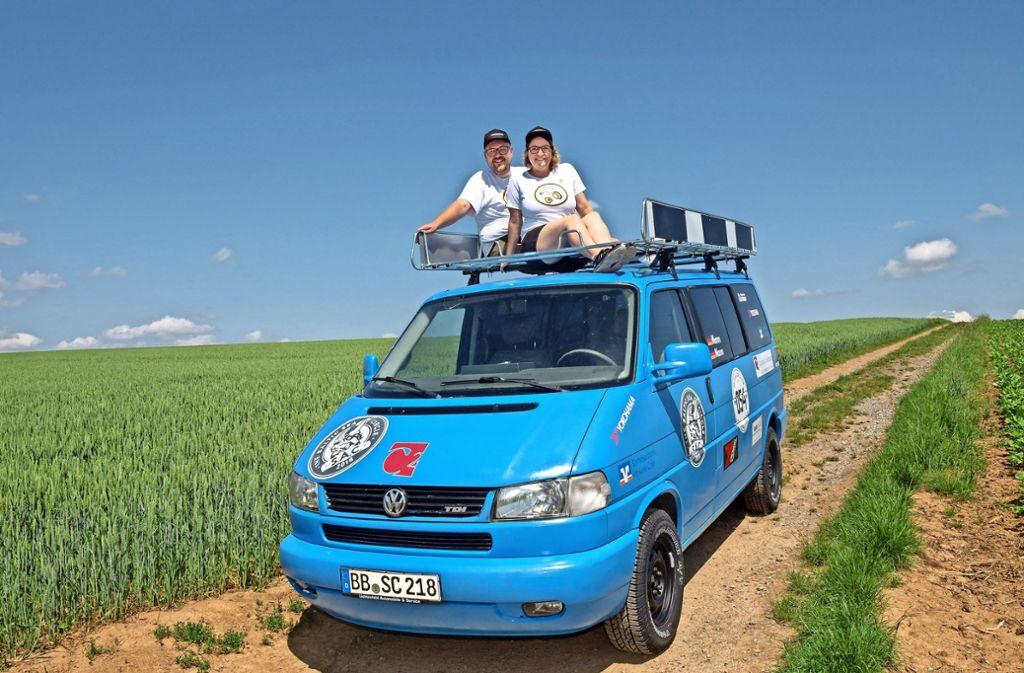 Sarah und Daniel Mann sind für den Baltic Sea Circle startklar. Foto: factum/Weise