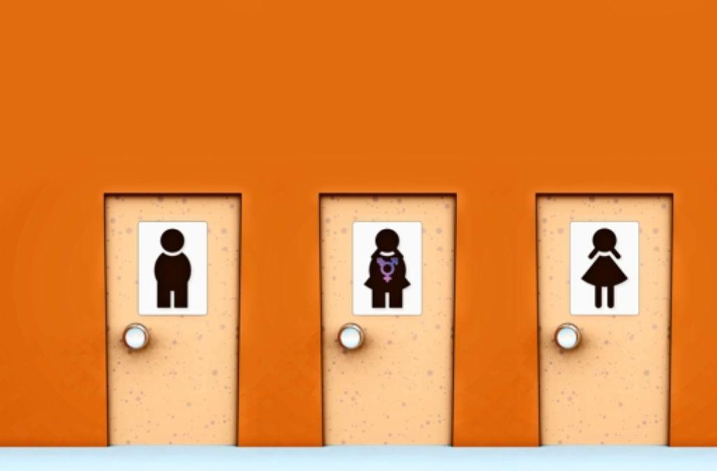 """Mancherorts gibt es bereits  eine zusätzliche Unisex-Toilette für all jene, die bei den Männern und bei den Frauen gesagt bekommen: """"Sie sind hier falsch!"""" Foto: fotolia"""