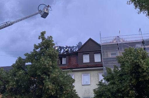 Hoher Schaden nach Dachstuhlbrand