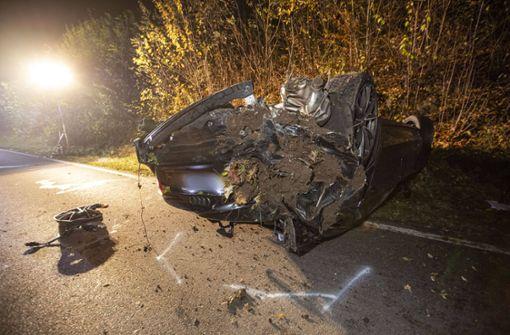 Polizei ermittelt nach Unfall wegen illegalem Autorennen