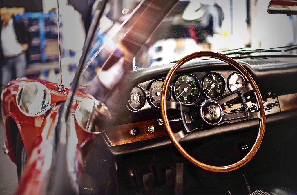 Der  911er ist  restauriert worden. Das freut auch seinen ehemaligen Besitzer. Foto: Lichtgut/Max Kovalenko