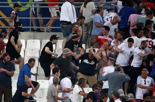 Brutale Schlägereien auch im Stadion von Marseille