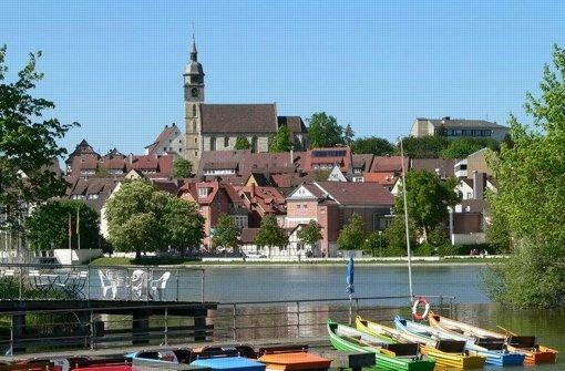 Wo ist sie denn, unsere schöne Kreishauptstadt? Man findet sie nicht ... Foto: LKZ
