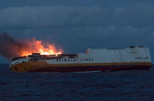 Französischer Küste droht nach Schiffsunglück riesige Ölpest