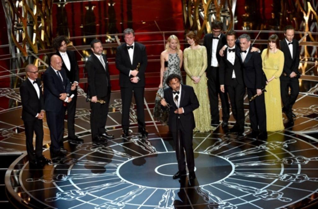Der Mexikaner Alejandro G. Iñárritu ist der strahlende Sieger. Foto: Getty Images