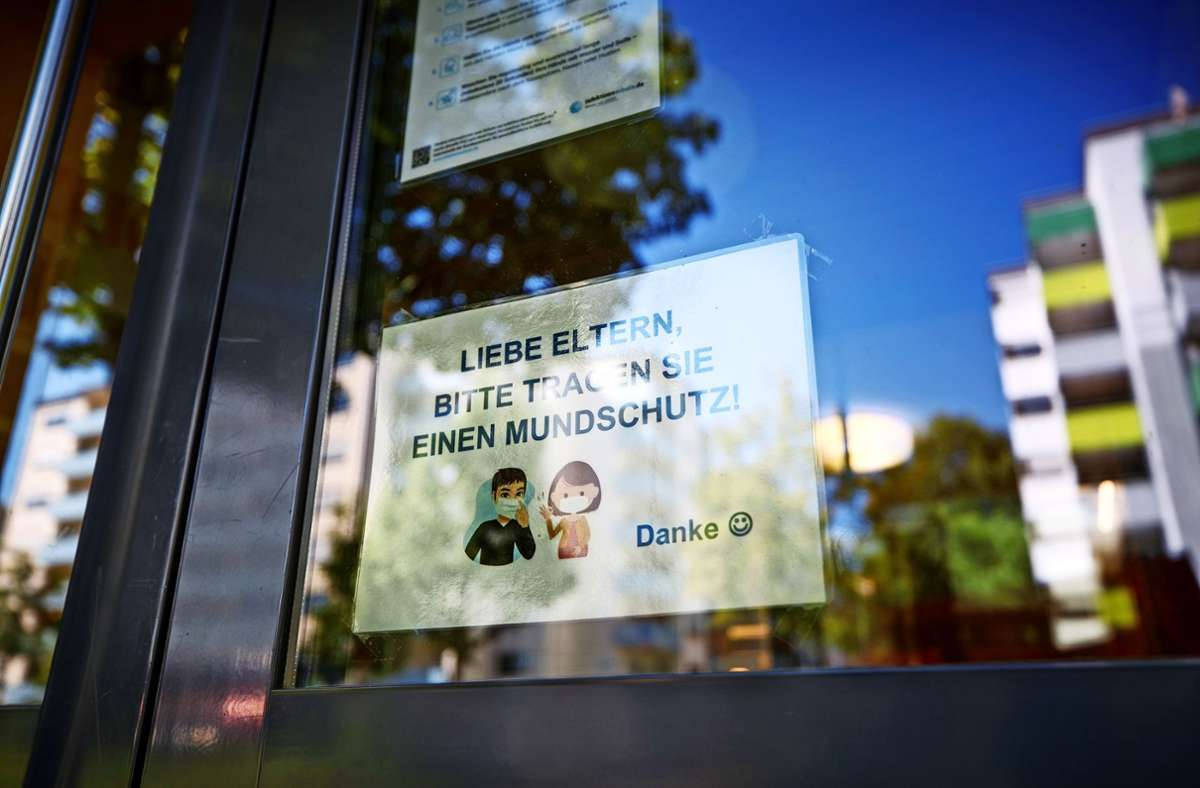 In Fellbach und Waiblingen hindert ein Schnupfen nicht am Besuch des Kindergartens, in Schorndorf schon. Foto: Gottfried Stoppel