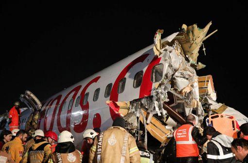 Drei Tote bei Flugzeugunglück