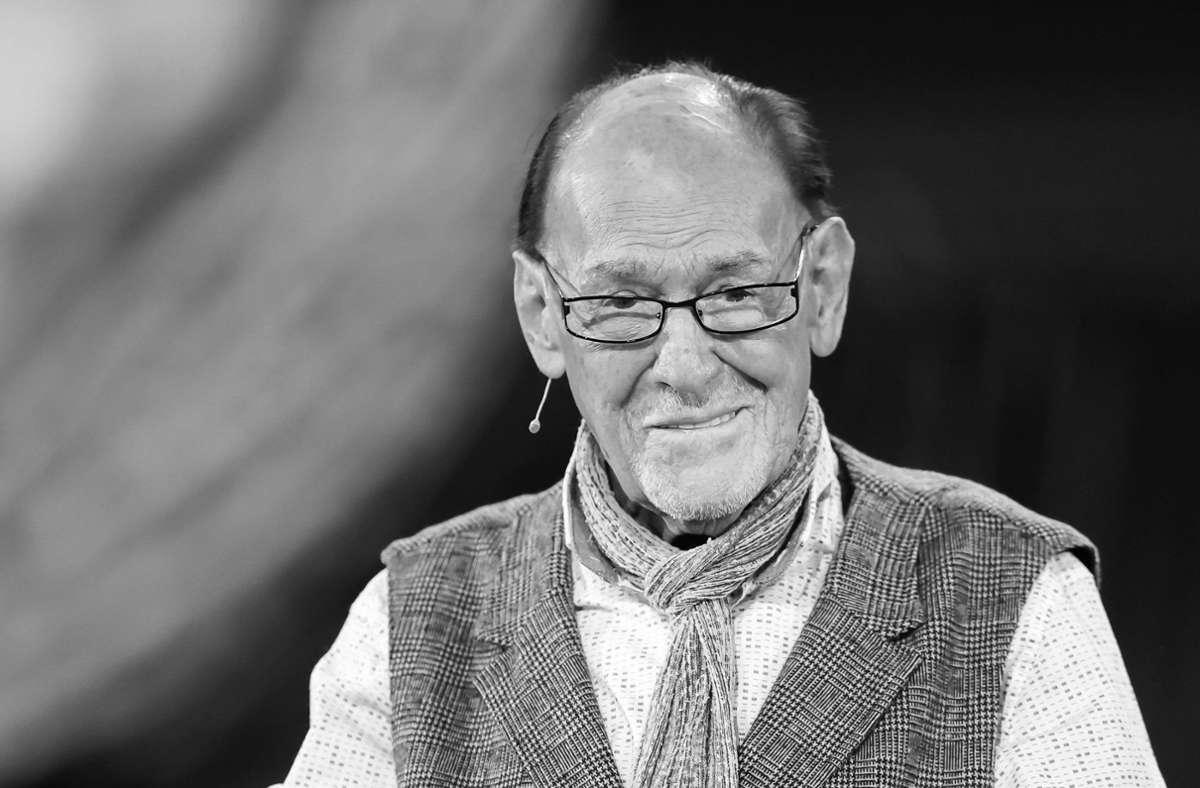 Herbert Köfer war von Anfang an ein prägendes Gesicht des DDR-Fernsehens. Foto: dpa/Jan Woitas