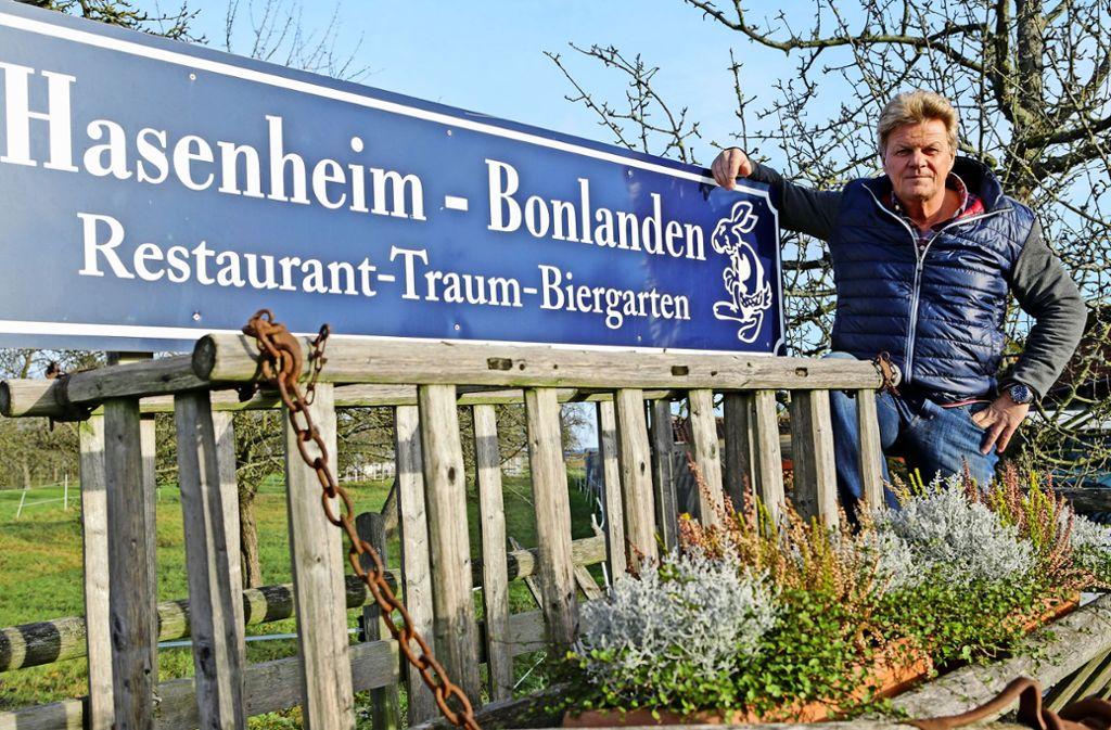Uli Böpple war einst Profifußballer,  bevor er in die Gastronomie wechselte. Foto: T. Krämer