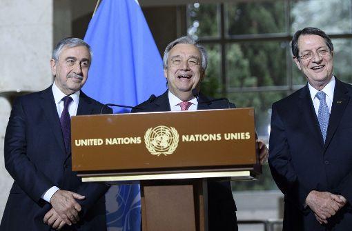 Zypern-Verhandlungen gehen zäh weiter