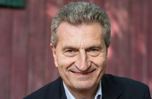 Günther Oettinger (62) weiß noch, wie sich ein Wahltriumph im Südwesten anfühlt: Nach nur einem Jahr im Amt führte er die CDU im Jahr 2006 zu 44,2 Prozent. Foto: dpa