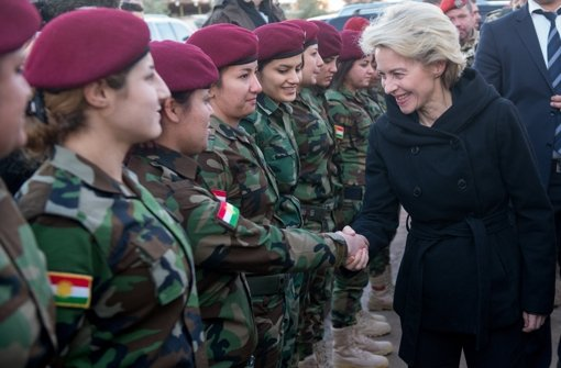 Peschmerga im Irak erhalten weitere Waffen
