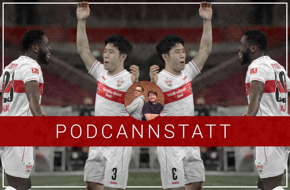 Der Maschinenraum des VfB  – Wataru Endo und Orel Mangala – ist für die Mannschaft von besonderer Bedeutung. Foto: StZN/Baumann
