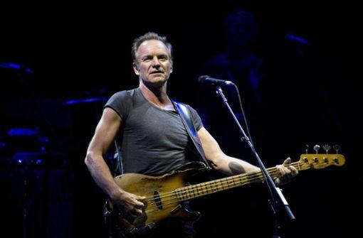 Sting sagt Konzert in Stuttgart ab