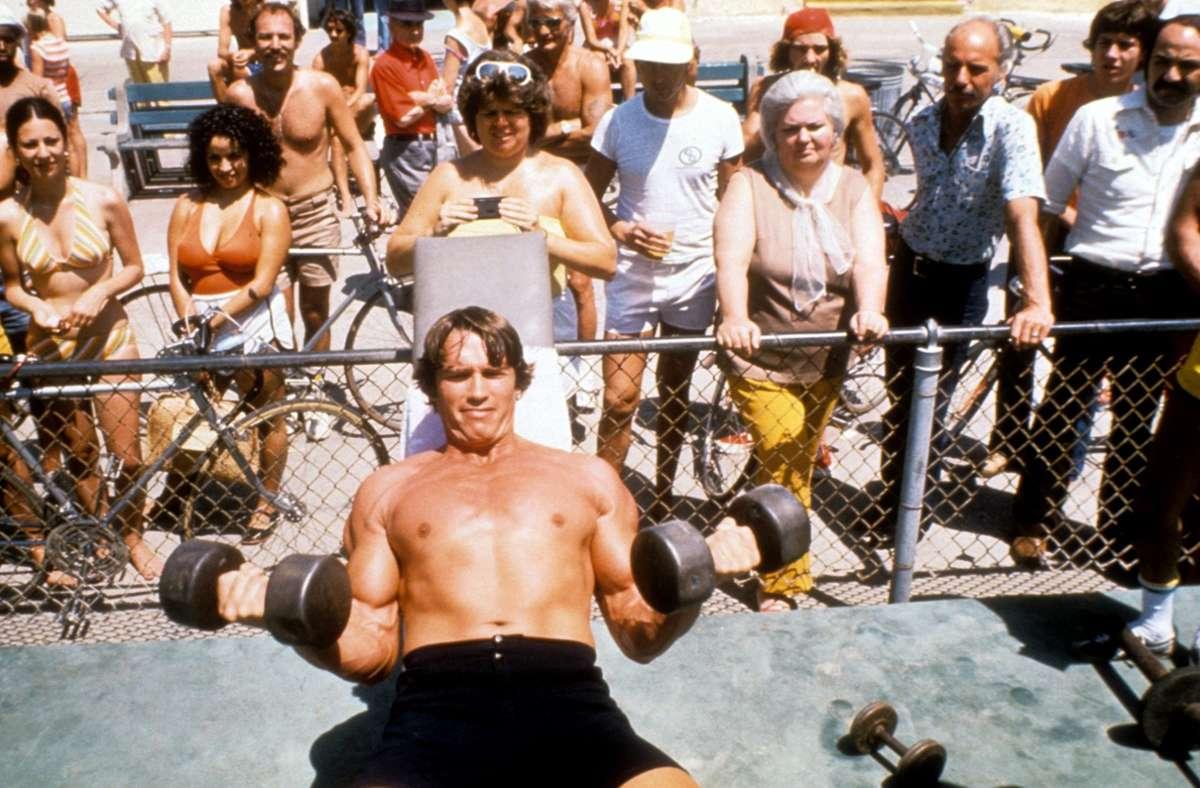 Schwarzenegger hat zahlreiche Titel als Bodybuilder und gilt in seiner Disziplin  als erfolgreichster Sportler weltweit. Foto:
