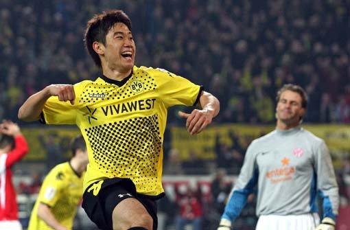 Dortmunds achter Sieg in Folge