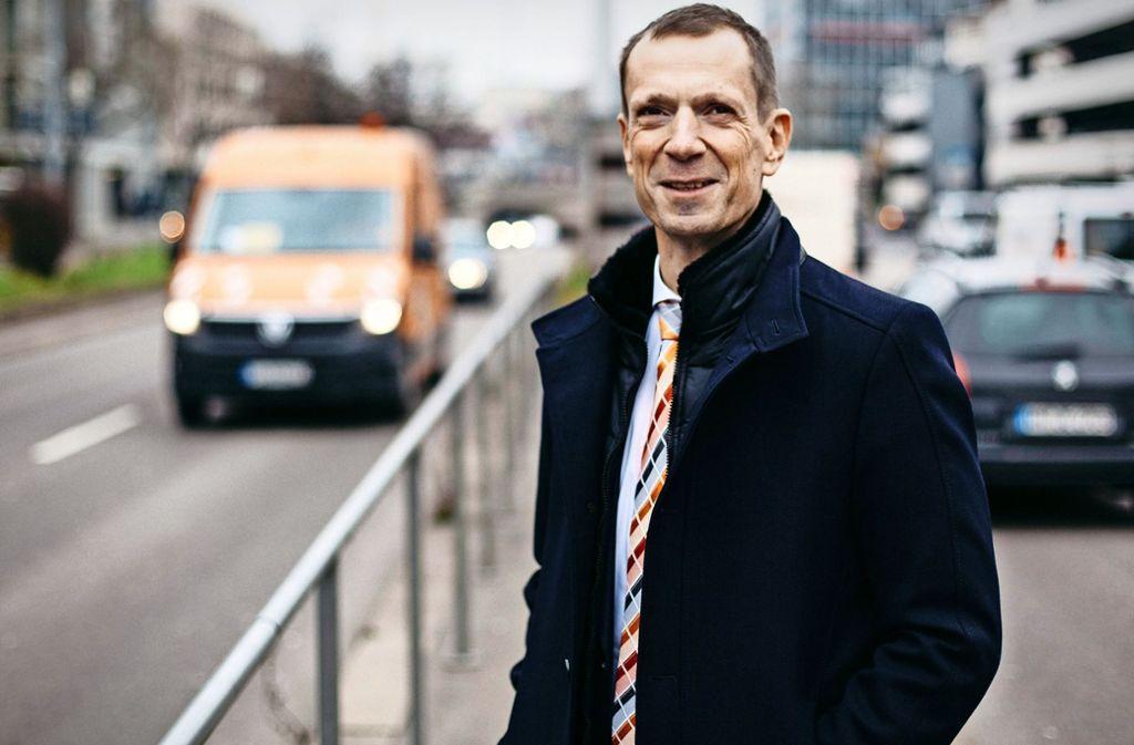 Alexander Kotz überlegt sich, ob er ins Bürgermeisteramt wechseln will. Foto: Lichtgut/Leif Piechowski