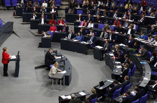 Bundestag wird vorerst nicht verkleinert