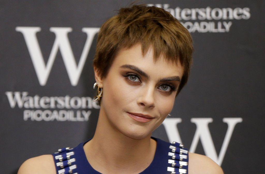 Zu jung für Faltencremes? Aber bitte, wer möchte denn nicht so jung und schön wie Cara Delevingne aussehen?! Foto: AP