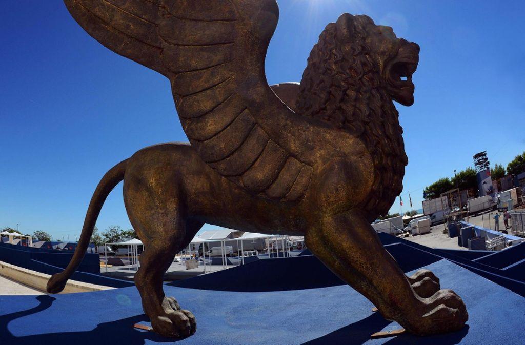 Venedigs Löwen standen Pate für den Preis der Filmfestspiele, für eine der begehrtesten Auszeichnungen der Kinowelt. Foto: dpa