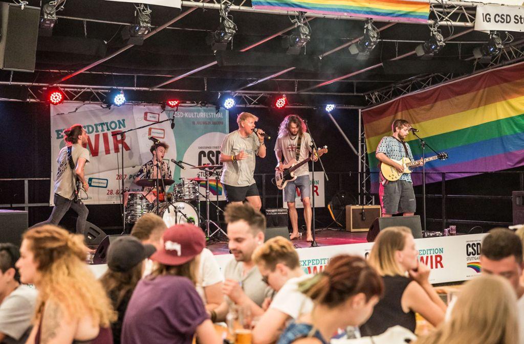 Christopher Street Day Sommerfest am Berger Festplatz Foto: Lichtgut/Julian Rettig