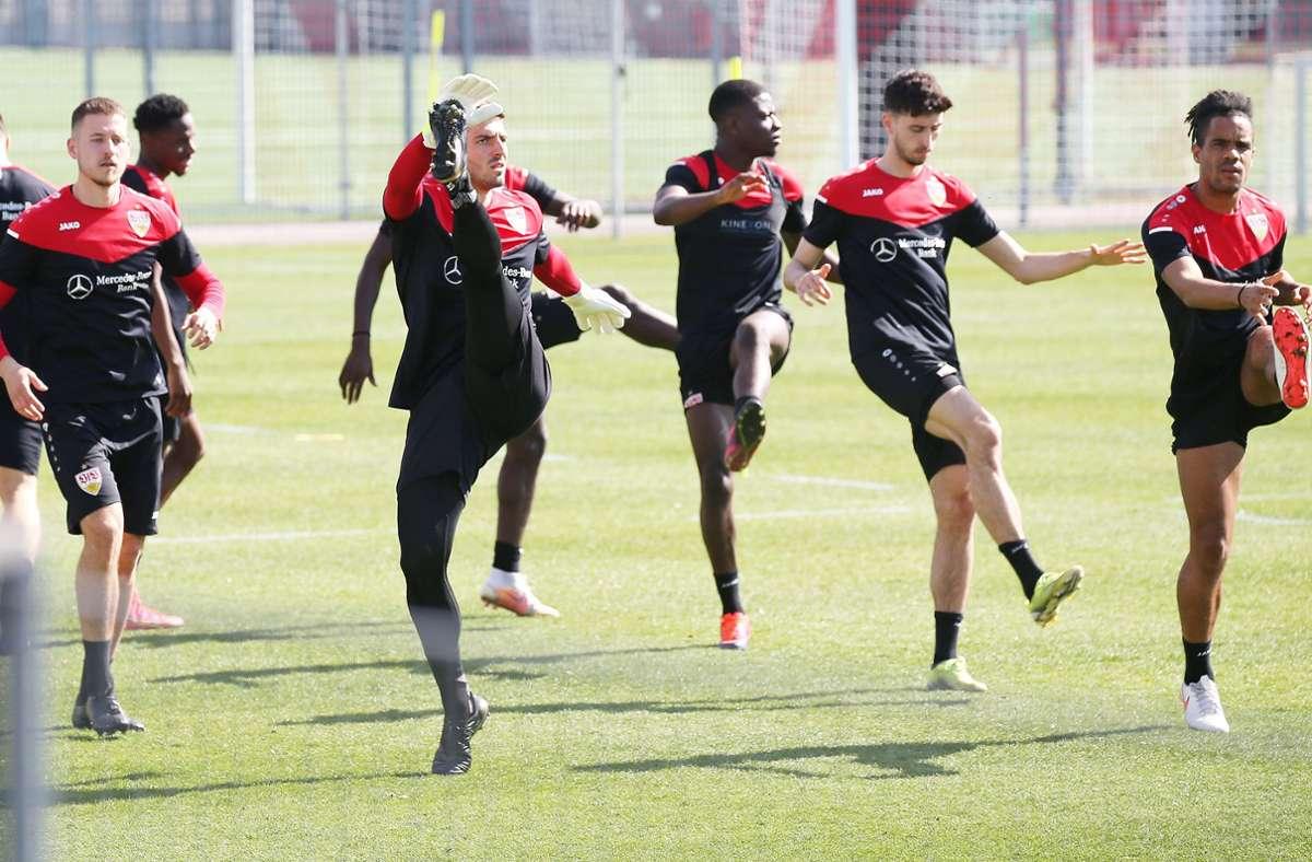 Die Profis des VfB Stuttgart müssen nicht in ein Quarantäne-Trainingslager. Foto: Pressefoto Baumann/Alexander Keppler