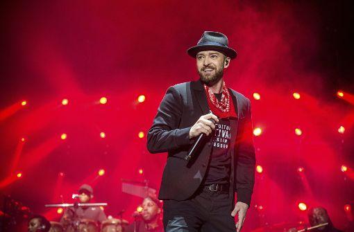 Justin Timberlake feiert Comeback auf Football-Bühne