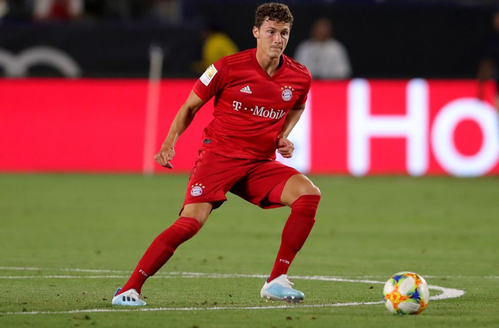 Benjamin Pavard beim Test gegen Arsenal London. Foto: Bongarts/Getty Images